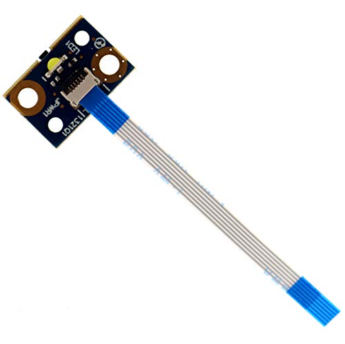 New Power Button Board w/Cable Replacement for HP Pavilion X360 11-N 310 G1 Probook 470 G2 11-P  755733-001 - Deal4GO LS-B151P