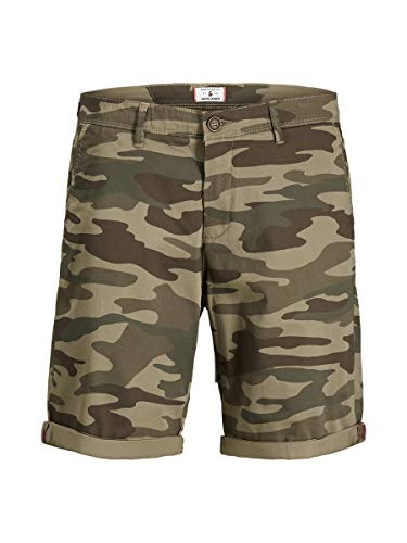 JACK & JONES Male Chinoshorts 5-Pocket Style MDusty Olive