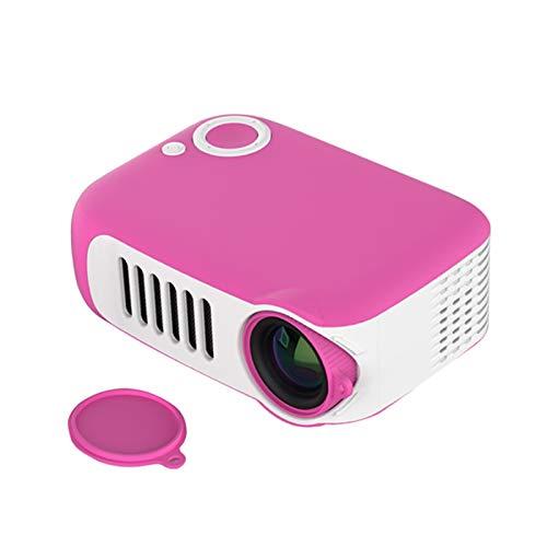 EMPERSTAR Projector Mini, Portable Video-Projector 1080P HD Miniature Children Projection Compatible with Full HD 1080P HDMI,VGA,USB,AV,Laptop,Smartphone,B