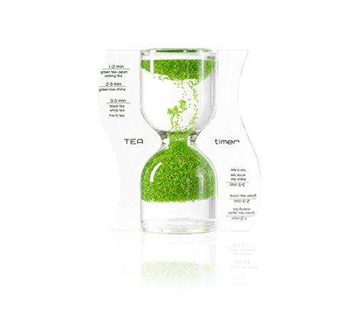Paradox Tea Timer, Sanduhr hellgrün, Grün, 9cm
