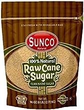 SUNBEST NATURAL 100% Natural Raw Sugar, Cane Sugar, Turbinado Sugar, 1 Pack