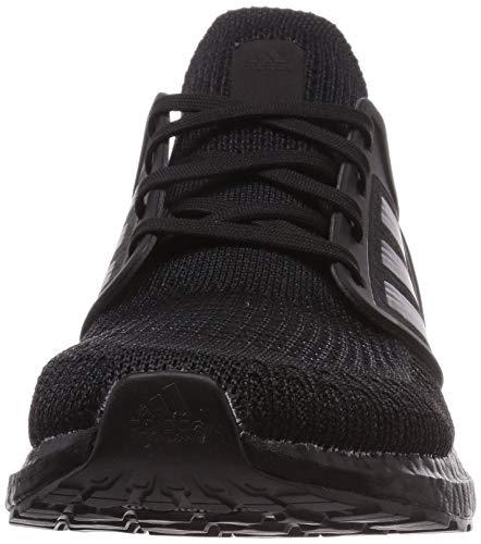 adidas Ultraboost 20, Zapatillas de Running Hombre, NEGBÁS/NEGBÁS/Rojsol, 43 1/3 EU