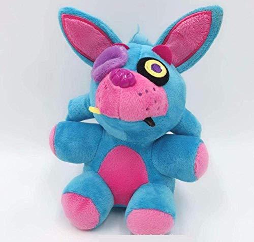 DINEGG Juguetes de Peluche Cinco Noches en Freddy S Bear Stuffed Toys Doll Kids Cumpleaños 18cm YMMSTORY
