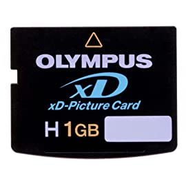Olympus xD-Picture Card H 1GB High Speed 1 Type H xD-Picture Card offers large storage capacity and ultra-fast write speeds Writes up to 2x to 3x faster than previous xD cards, so there's less waiting between shots Supports the Panorama function found with today's Olympus digital cameras
