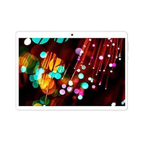 10.1 Pulgadas 1280x800 IPS 2G RAM 32G ROM Android 10.0OS ibowin Tablet PC Quad-Core WiFi GPS 3G SIMFREE Celular Desbloqueado PlayStore Cámaras (Plata)