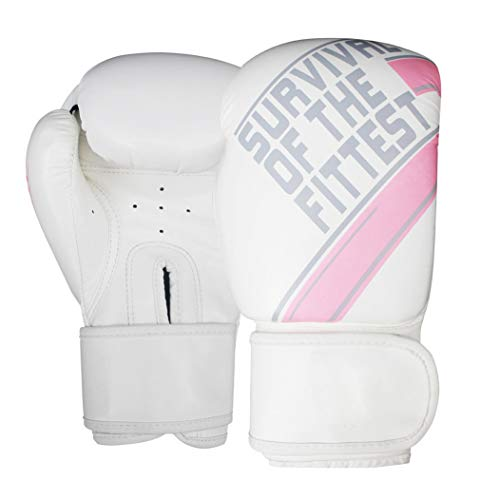 LBYSK Boxhandschuhe All-Inclusive All-In-One-Boxen Kämpfen Free Kick Professional Training Handschuhe Punch-Trainingsgeräte für Kinder Erwachsene Frauen Männer,Rosa,8oz