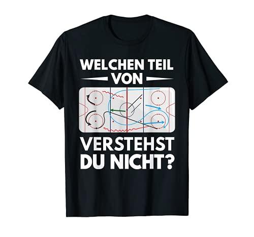 Eishockey Unihockey Hockey Trainer Coach Sport Geschenk T-Shirt