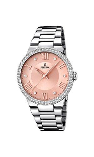 Reloj Festina de mujer oro rosa