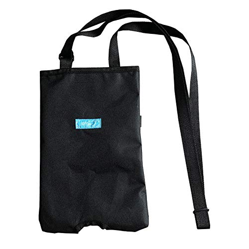 FITYLE Bolsa de catéter, Funda de Soporte para Bolsa de Drenaje de catéter urinario, Bolsas de para catéter con cinturón Ajustable - Negro
