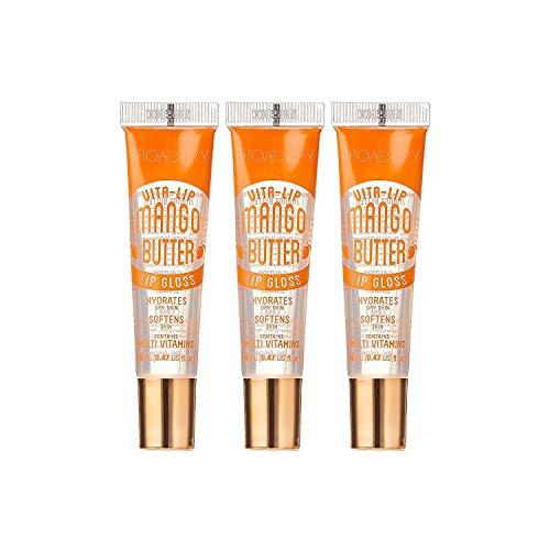 Broadway Vita-Lip Clear Lip Gloss (3 PK Mango Butter & 3 PK Argan Oil) WILL HAVE YOUR LIPS LOOKING GREAT