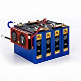 Lynx Battery 12V 100Ah Lithium Iron Phosphate LiFePO4 Rechargeable Prismatic Deep Cell Battery with...