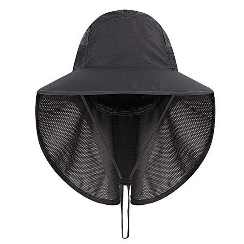Gisdanchz Sombrero Hombre Verano Sombrero Ropa Senderismo Golf Mujer Gorra De Caza Mujer Verano Gorro Pescador Hombre Sombreros Sombrero Safari Mujer Playa Gris Oscuro