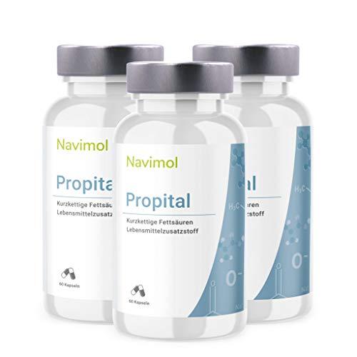 Propital 180 Kapseln | 500mg pro Kapsel | Lebensmittelzusatzstoff: Reine Propionsäure | Natriumpropionat | Hergestellt in Deutschland