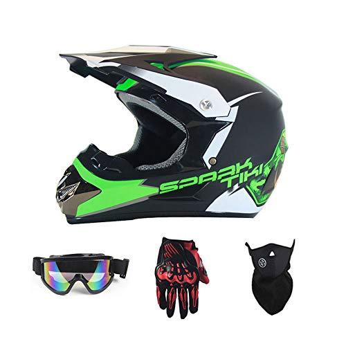 WHL stuur handschoenen bril masker motorfiets racen off-road helm multi-kleur optioneel