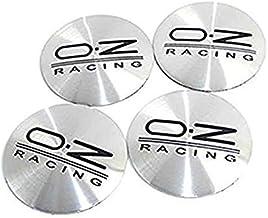 okokk90909o Adesivo 4X 56mm OZ Argento//Nero Coprimozzo Coprimozzi Mozzi 3D Stickers Logo UK