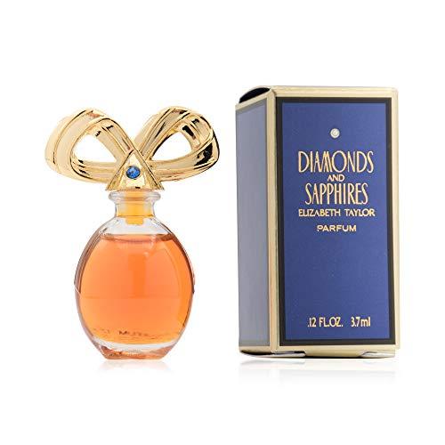 Mini perfume Elizabeth Taylor Diamonds and Sapphires 3,7 ml. Perfume original de colección, de viaje, para regalar