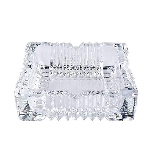 Uotyle Glas Aschenbecher, Kristall Aschenbecher Platz Für Auto, Party, Restaurant