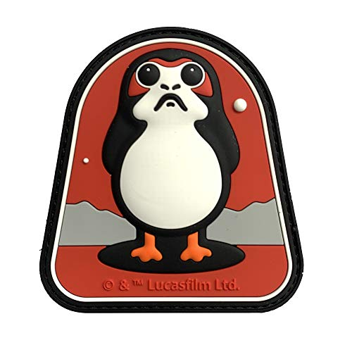 Musterbrand Star Wars Patch Unisex Porg Mehrfarbig ONE