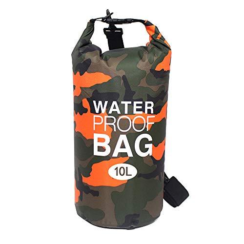 Bolsa seca impermeable de LEAMER, bolsa seca flotante, 2 L, 10 L, 23 L, tamaño enrollable, ideal para kayak, rafting, senderismo, natación, camping, canotaje, deportes acuáticos