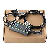 HTDirect Cable PLC para Siemens S7 200/300/400 6ES7 972-0CB20-0XA0 USB-MPI+ PC USB-PPI