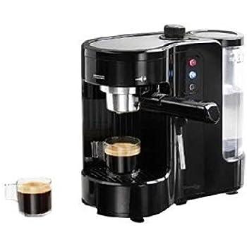Domoclip DOD130 Independiente Semi-automática Máquina espresso 1L 1tazas Negro - Cafetera (Independiente, Máquina espresso, 1 L, Granos de café, De café molido, 1300 W, Negro): Amazon.es: Hogar