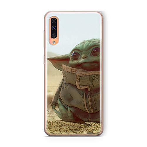ERT GROUP Funda Original y Oficial de Star Wars Baby Yoda para Samsung A50, Samsung A50s, Samsung A30s, Carcasa de plástico de Silicona TPU, Protege contra Golpes y arañazos