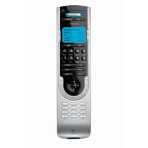 Logitech Harmony 520 Advanced Universal Remote (Discontinued by Manufacturer)
