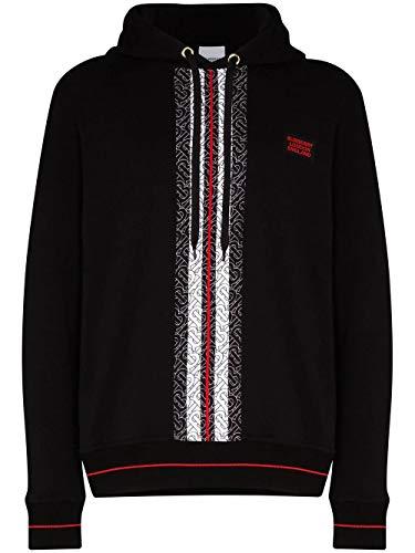 BURBERRY Luxury Fashion Herren 8026940 Schwarz Baumwolle Sweatshirt | Frühling Sommer 20
