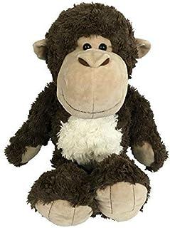 Stuffed Animal Monkey | Plush Toy | Soft Cute Brown Monkey - Chimpanzee - Ape | A New Best Buddy for Your Cheeky Chimp