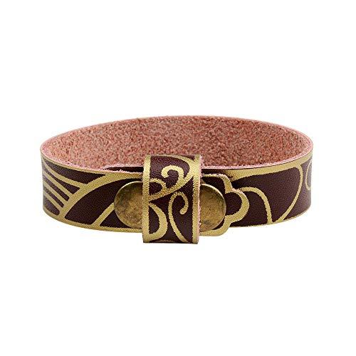 UGBJ Armbänder Schmuck Premium Echtlederarmband Personalisiertes Leder Armband Lederarmband Herren Armband Schleuder Rindsleder Armband Armband