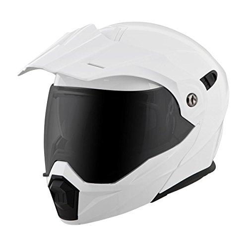 Scorpion EXO-AT950 Dual Sport Modular Helmet Gloss White (XL)