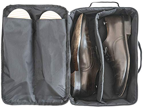 DEGELER Shoe Bag for Effortless Traveling | Water-Resistant Shoe Organizer for Carry-on Luggage Travel Accessory