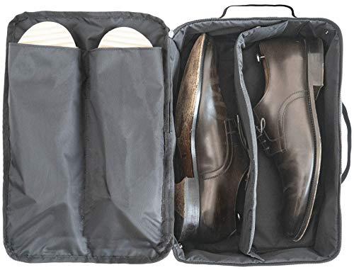 DEGELER® Schuhtasche für Schuhe & Slipper | Wasserabweisender Schuhbeutel fürs Gepäck | Schmutz & Geruchsabweisender Reise Schuhsack | Shoe Bag zur Trennung von Schuhen & Kleidung als Reisezubehör