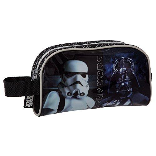 Star Wars 4234151 Neceser de Viaje, Color Negro