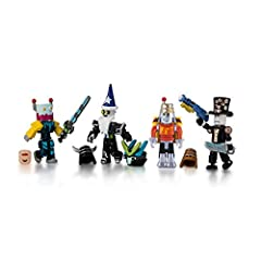 The Roblox Robot Riot Mix & Match Set includes four figures with interchangeable parts and loads of accessories compatible with other characters in your collection Mix and match parts to build your own unique Roblox character Deck out your figures wi...
