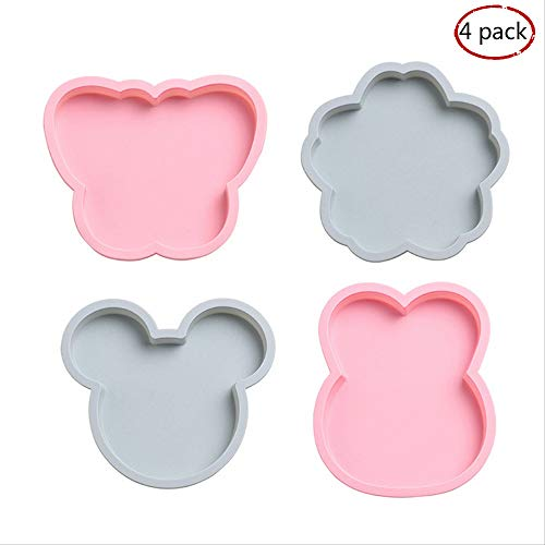 Layer Cake Pan Set Silicone 7 Inch Rainbow Cake Baking Pans Silicone Cake Mold For Vegetable Pancakes Pizza Crust Omelet Frittata Set Of 4