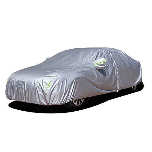 ZHXMI 190T Universal Car Covers Sonnenschutz im Freien Staubdichter Regenschutz Schneeschutz für Benz E Klasse w204 cla 210 w203 w201-Eine Klasse