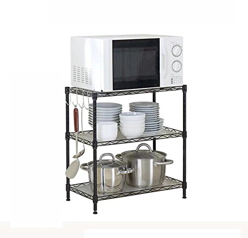 MAIKA HOME - Drie-tier rek/keuken dressing fles puin rek/woonkamer afwerking planken/magnetron planken