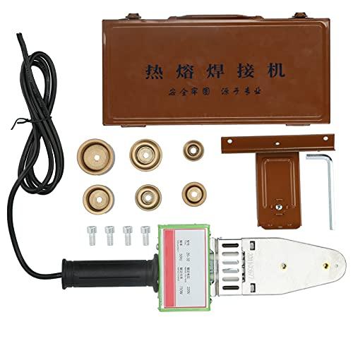 Kit de pistola de fusión en caliente 6 agujeros Disipación de calor Juego de enchufes de fusión Herramienta de soldadura electrónica 750W 220V, para fábricas electrónicas, fábricas de embalaje