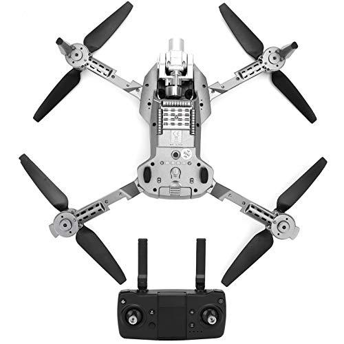Xiuganpo L106 Pro Mini Drone Plegable, Profesional Posicionamiento GPS 2,4G Drone Teledirigido con Reconocimiento De Disparo por Gestos, 4K Cuadricóptero para Interiores y Exteriores
