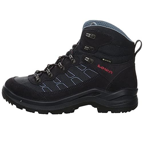 Lowa Taurus PRO GTX® MID Ws Damen Wanderstiefel Tracking Outdoor Goretex Blau, Schuhgröße:39.5 EU