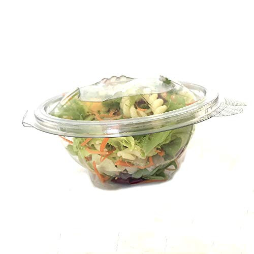 75 Set di vaschette Alimentari fresche per Insalata con coperchi monouso, 1500 ml