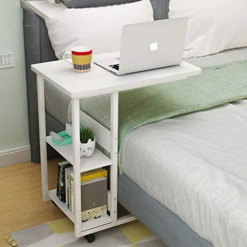 Nydz laptopbureau met wielen voor het opbergen van de woonkamer.