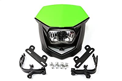 Motorcycle Pit Dirt Bike Motocross Enduro Supermoto Universal Headlights Headlamp StreetFighter
