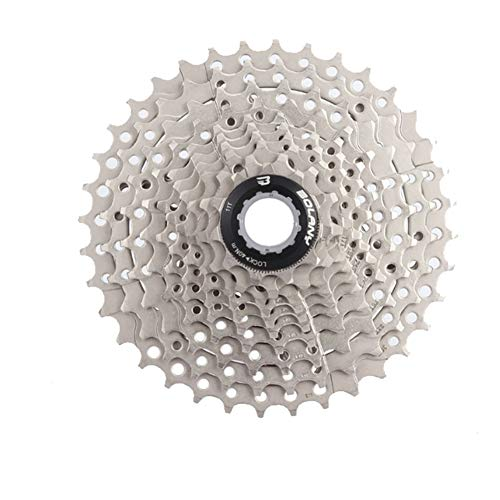 elegantstunning - Bicicleta de montaña (10 velocidades, 11-36T, piñones, Rueda Libre, Gran Ratio, Accesorios para Bicicleta de montaña