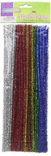 Chenille Kraft AC7116-01DI - Steli luccicanti (confezione da 100)