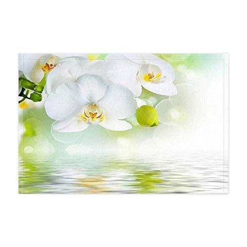 JoneAJ SPA Flor Alfombras baño baño Primavera Flores