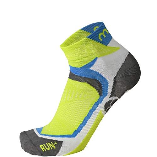 MICO - Chaussettes de sport - Homme - Blanc - 35/37 EU