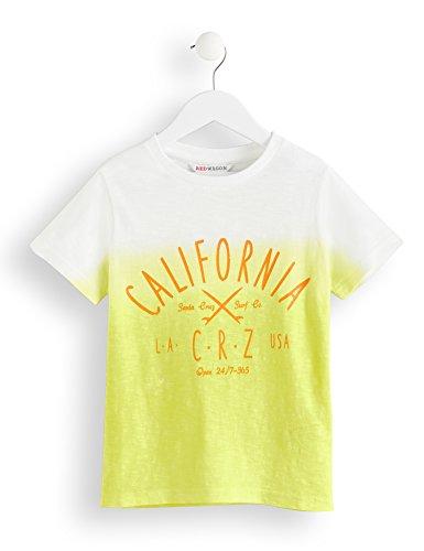 Amazon-Marke: RED WAGON Jungen T-Shirt mit California-Print, Gelb (Yellow), 110, Label:5 Years