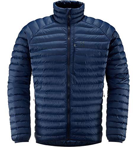 Haglöfs Winterjacke Herren Winterjacke Essens Mimic Wärmend, Atmungsaktiv, Wasserabweisend Tarn Blue L L - Empty for carryovers -